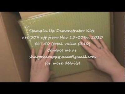 Stampin Up Starter Kit Video