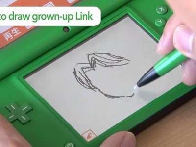The Legend of Zelda - How To Draw Link Sample