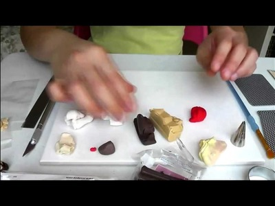 Tiny Hands Mini Food Tutorial: Miniature Polymer Clay Brownie Sundae Tutorial