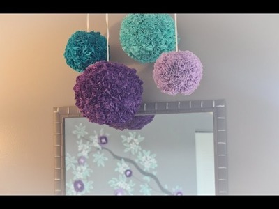 TUTORIAL: Fabric Pom Poms