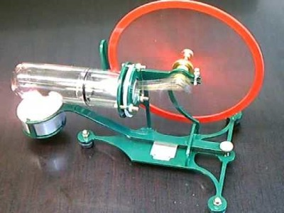 A green Stirling Engine from Forest Classics