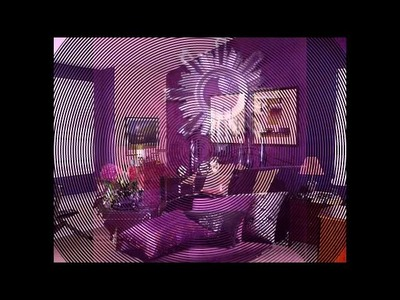 Bedroom decorating ideas purple