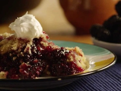 Blackberry Cobbler Recipe - How to Make Blackberry Cobbler