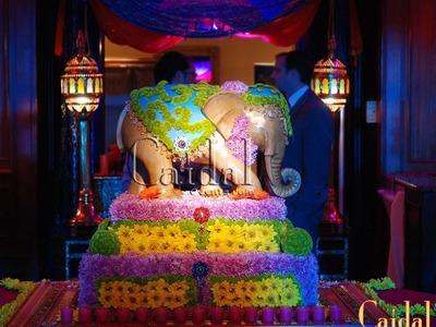 Bollywood & Moroccan Fusion Theme Party Decor Ideas
