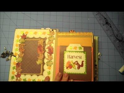 Build A Page Mini Album for Fall