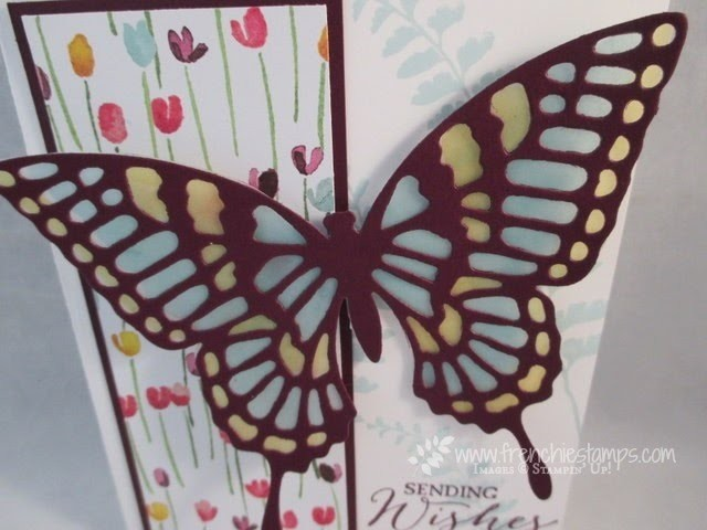 Butterfly Thinlits Die with Vellum