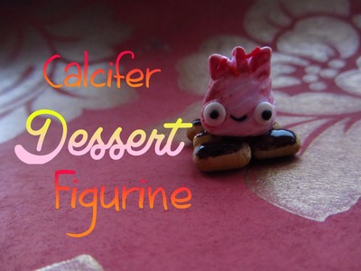 Calcifer Dessert Figurine Tutorial: Howl's Moving Castle; Polymer Clay How-to :)