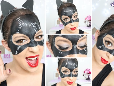 Catwoman Mask Makeup Tutorial by EyedolizeMakeup