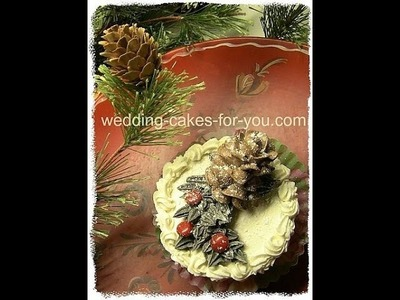 Christmas Cake Decorating Idea