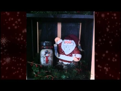 Christmas Living Room - Country Christmas Ideas