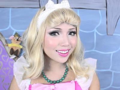 Cinderella Makeup Tutorial! | Disney Cinderella 2015 | Costume Cosplay Makeup | KittiesMam