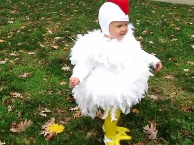 Cutest Chicken Homemade Costume