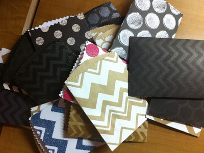Designing your own little paper bags