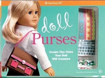 Doll Purses Craft Kit by American Girl ~Review and Opening~