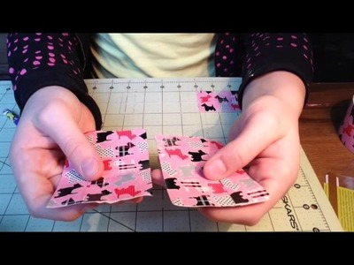 Duct Tape Wallet Tutorial (mini Women's Wallet) part 2.3