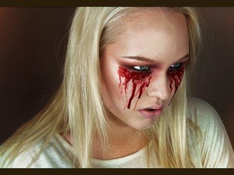 Easy Bloody Mary - Halloween Makeup Tutorial