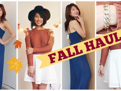 Fall Fashion Haul 2014: Shoplately & Romwe