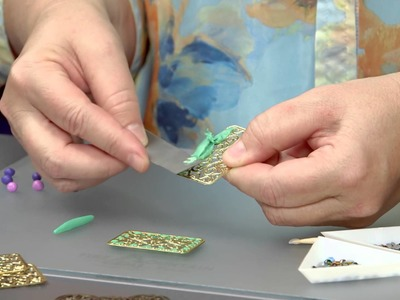 Filling Filigree with Polymer Clay