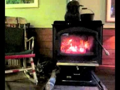 Fireplace Woodstove - 3 hours for Relaxation, Meditation, Dreaming, Reading, doing Inner Work
