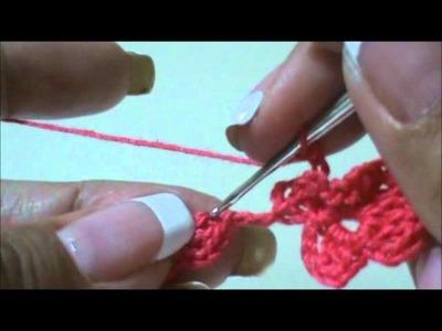 Floral Trellis Stitch part 1