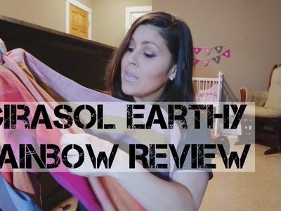 Girasol Earthy Rainbow Woven Wrap Review