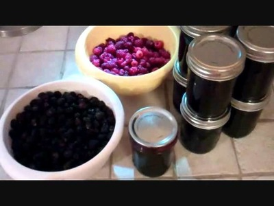 How I make Black Raspberry Jelly.