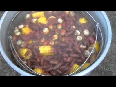 How To Boil Crawfish - Southern Style - With Great Music