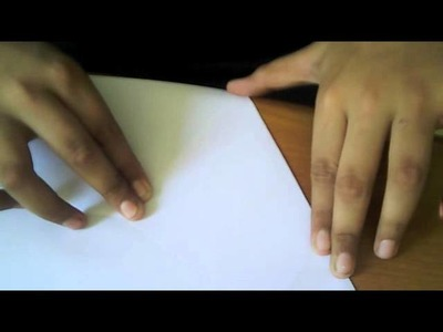 How to cut an Equilateral Triangle from a Rectangle paper