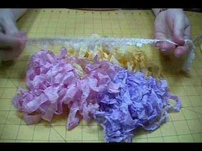 How to Dye and Crinkle Seam Binding