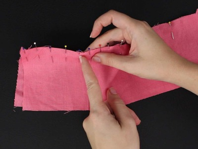 How To Ease 2 Fabric Pieces Together