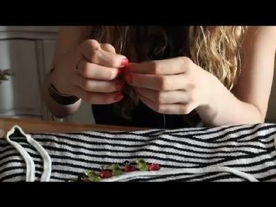 How to Embellish Garments With Rhinestones & Stones : Embellish & Hem