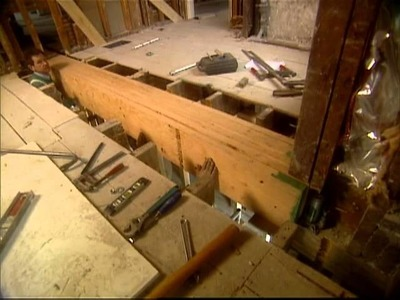 How To Install a Load-Bearing Beam - Shingle Style Home - Bob Vila eps.1403