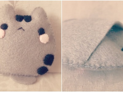How To Make A Baby Pusheen Cat Plushie Pocket Tutorial