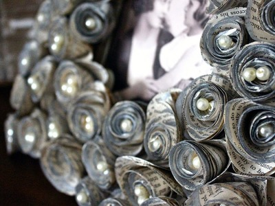 How to Make an Antique Gilded Rosette Frame