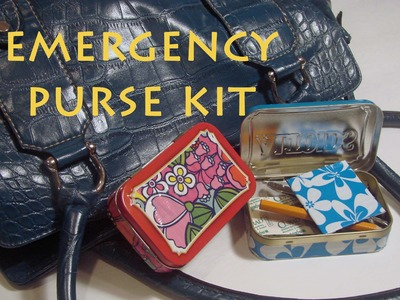 How To Make An Emergency Purse Kit