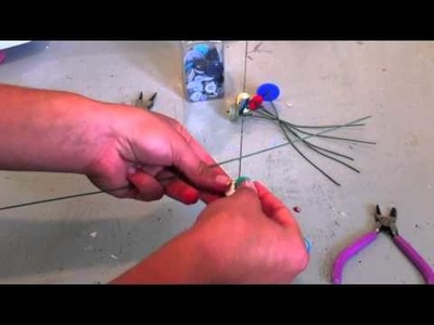 How TO Make Button Flowers
