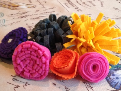 How to Make Felt Flowers: 5 Ways