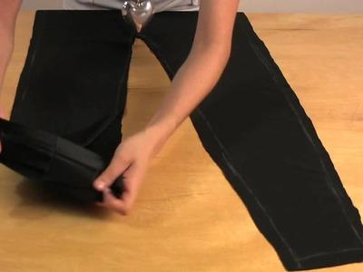 How to Make Gathered Leggings