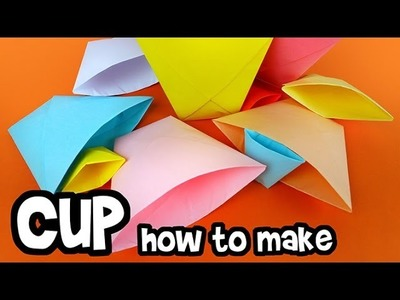 How to make - Paper Cup