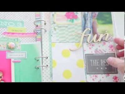 In The Mood To Scrap: Mini album with Elizabeth Kartchner (Two Peas in a Bucket)