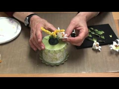 InCLASS: Easter Lily Cake Box with Susan Tierney: Part 3