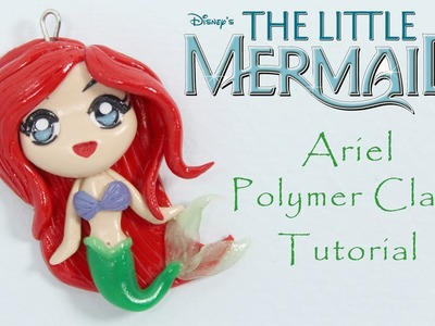 Little Mermaid Ariel Polymer Clay Tutorial