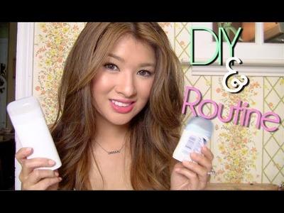 Make Deodorant to Reduce Dark Underarms.Toxins (PART 2)!!!! My Routine