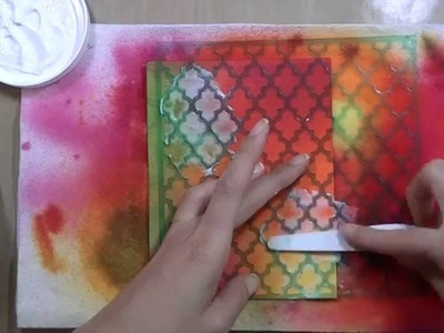 Mixed Media Card Tutorial