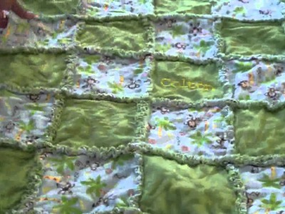 My Rag Quilt Tutorial: Part 5: Finish it up!
