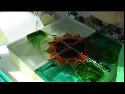 Painting Glass Blocks