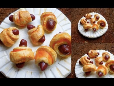 PIGS IN A BLANKET - Polymer Clay Tutorial