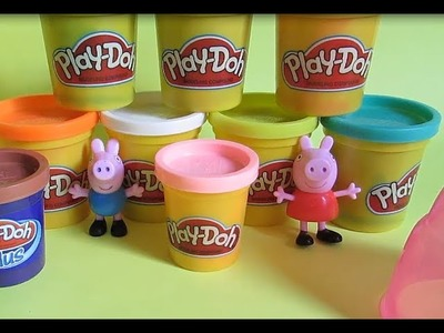 Play Doh Sweet Shoppe Ice Cream Cone Container Craft Kit - Peppa Pig Love Ice Cream