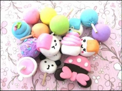 Polymer Clay Update #1 (Onigiris, Cupcakes, Lollipops)