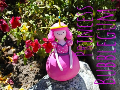PRINCESS BUBBLEGUM Polymer Clay- ADVENTURE TIME -(Young Version)